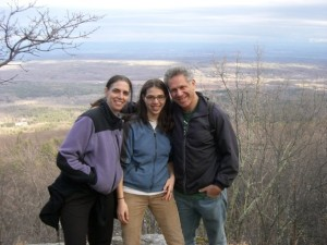 Beth, Antonia, and Kenny (from left to right)